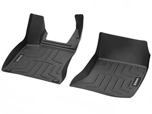 Mercedes Benz A1176802800 Black Front Set All Weather Floor Mat
