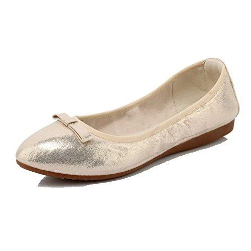 Talon Rond Agoolar Chaussures Tire Couleur Unie Non Femme AxYwTqYRFE