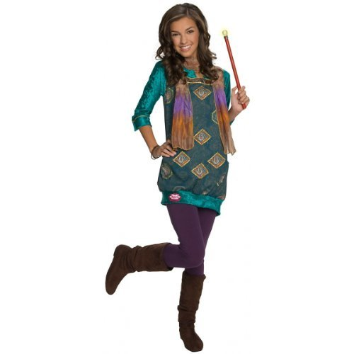 Wizards of Waverly Place Alex Paisley Dress Kids Costume - Small