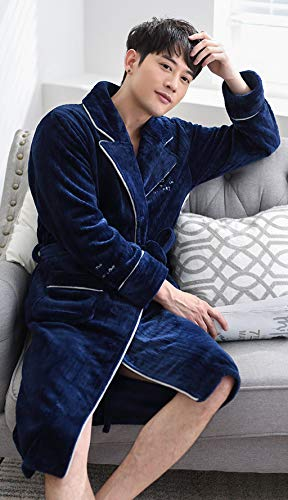 Corallo Abbigliamento E Autunno Dimensioni Elegante Casual Calda Ispessimento Velluto M colore 3 Pigiama Blu Inverno Dafrew Blue Confortevole Casa AxBqnXzx