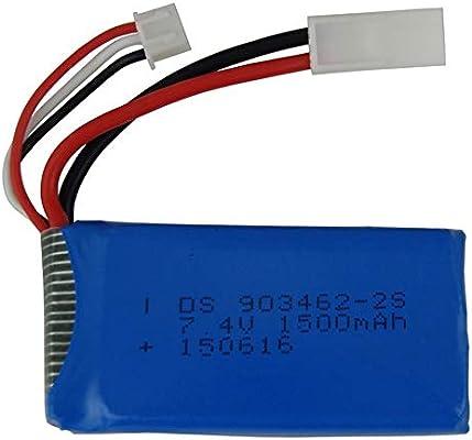 FT009-15 - Batería de polímero de litio para dron Feilun FT009 RC ...