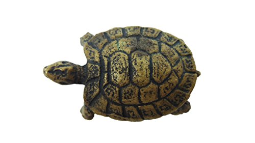 [Magic Turtle lp Lew yantra mini brass famous monk blessed miniature statue with box & holy cloth] (Garnet Cosplay Costume)