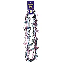 Beistle 57224-BKCT 6-Pack Musical Note Beads, 32-Inch