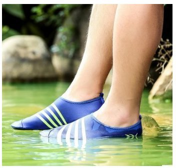 Chaussures De Sport De Leau À Séchage Rapide Léger Doux Pieds Nus Plongée Chaussures De Peau De Bain Antidérapant Sneakers Noir
