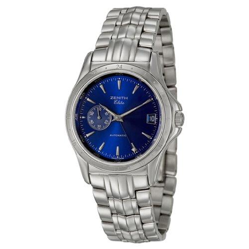 Zenith clase doble tiempo reloj automático para hombres 90 – 02 – 0030 – 682 –