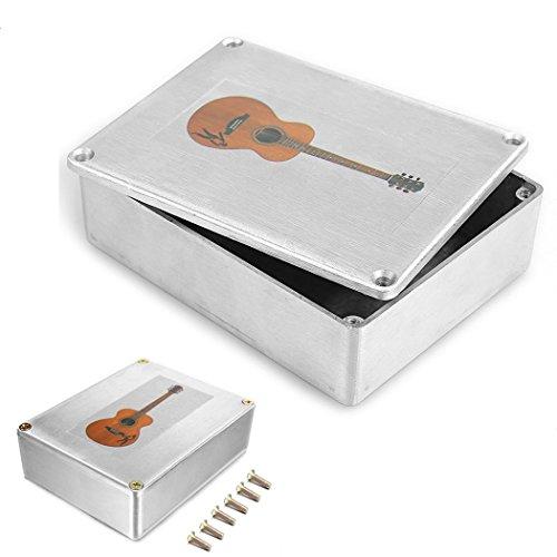 - Aluminum 1590BB Style Guitar Effects Pedal Stomp Box Enclosure