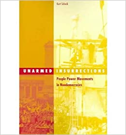 Book [ UNARMED INSURRECTIONS: PEOPLE POWER MOVEMENTS IN NONDEMOCRACIES ] By Schock, Kurt ( Author) 2004 [ ]