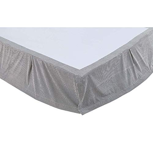 VHC Brands Lincoln Queen Bed Skirt, 60x80x16 (Gaines Magnolia Joanna Bedding)