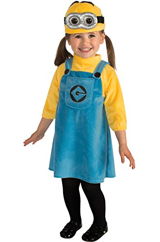 Rubie's Despicable Me 2 Female Minion Costume, Blue/Yellow, -