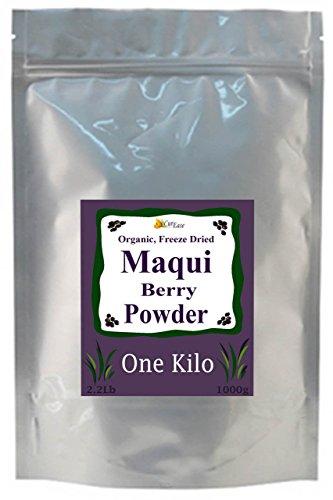 CurEase 100 % pur gel biologique séché Maqui Berry en vrac poudre Kilo 1kg (2,2 lb)