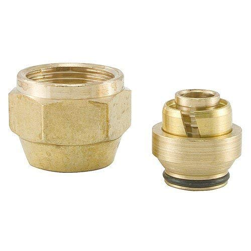 Uponor Wirsbo A4020500 QS-Style Compression Fitting Assembly - Radiant Heating & Cooling, 1/2