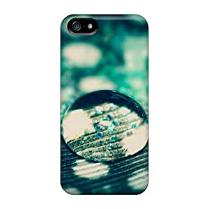 Iphone 5/5s Waterdrop Print High Quality Frame Cases Covers