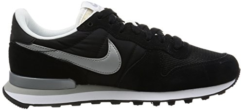 white Baskets Internationalist metallic Homme Silver Noir Nike flat black Silver wSBgqwXf