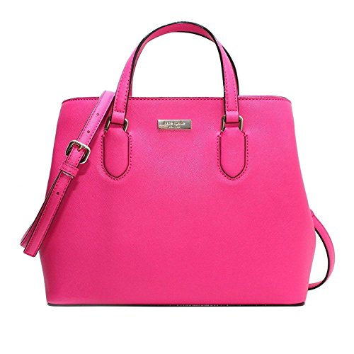 Satchel Peony Handle Top Evangelie Handbag Leather Pink Safiano Laurel Crossbody Way Spade Kate pxA8qB8