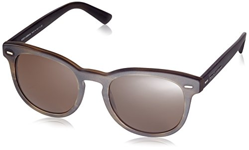Dolce & Gabbana, Lunettes Homme Striped Matte Tobacco