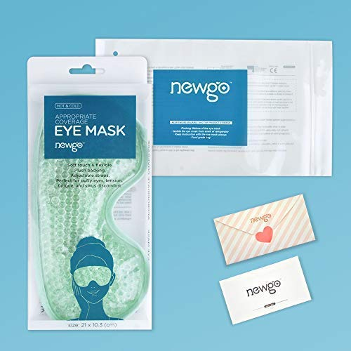 Cold Eye Mask Gel Bead Cooling Eye Mask for Puffy Eyes Headache Migraine Relaxation Reusable Plush
