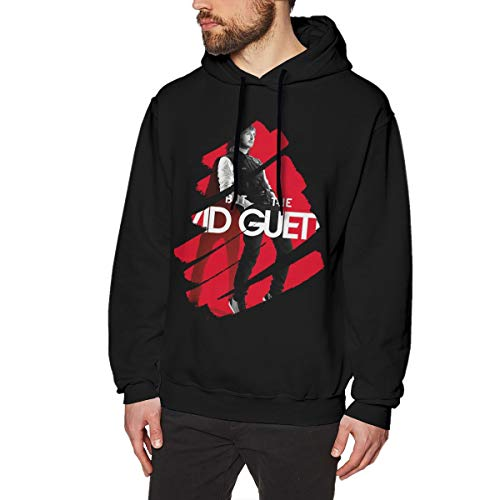 LilianR David Guetta Mens Hoodies Hooded Sweatshirt M Black (Best Memories David Guetta)