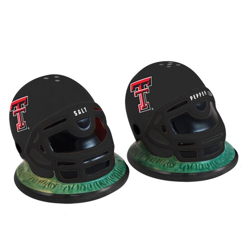 NCAA Texas Tech Helmet Salt and Pepper Shakers