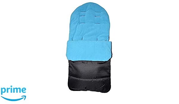 Saco reposapiés o manta para pies, compatible con cochecito Joolz Day, color azul océano: Amazon.es: Bebé