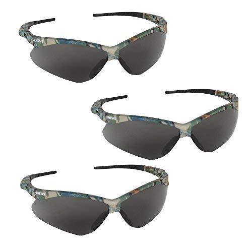 Kimberly Clark 22609, V30 Nemesis Safety Eyewear, Camo Frame, Smoke AF Lens, 1 per Each