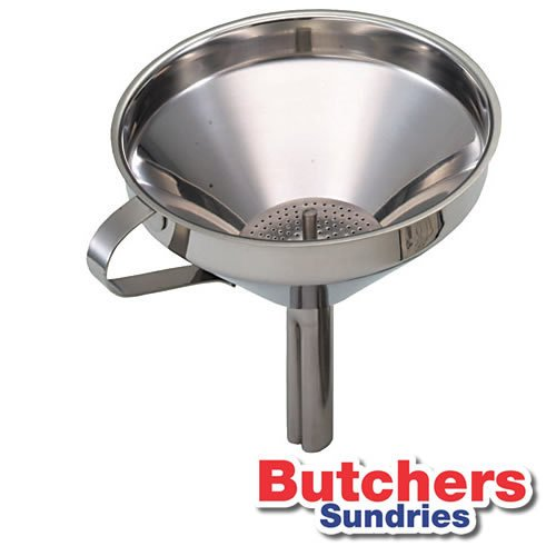 13cm Stainless Steel Filling Funnel With Removable Funnel Ideal For Pies, Cakes