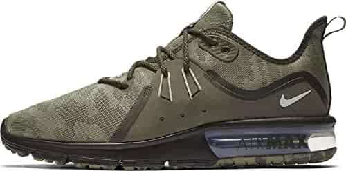 sale retailer 80b73 53fc8 Nike Mens Air Max Sequent 3 Premium Camo Running Shoe Medium OliveBeach  Size 9.5