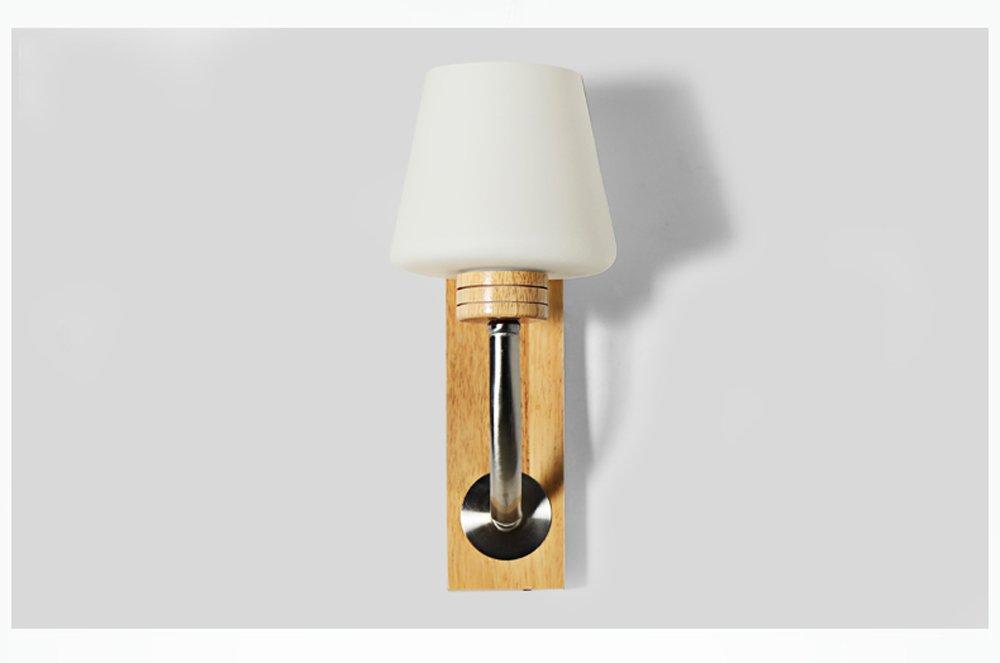 MENA Japanische Wand Wand Wohnzimmer Schlafzimmer Holz Holz Massivholz Nachttisch Lampe Wand Lampe