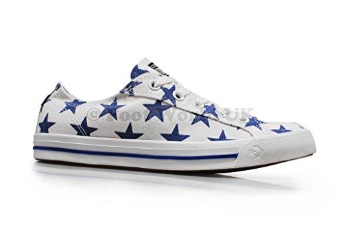 Converse, Herren Sneaker , - - Colour: Blue White - Größe: UK 3.5