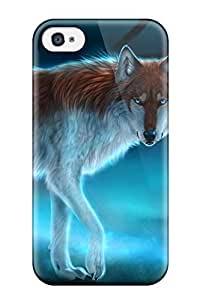New Style New Shockproof Protection Case Cover For Iphone 4/4s/ Wolf Case Cover 6580009K51862934