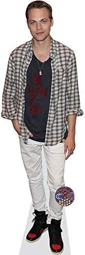 Celebrity Cutouts Dominic Sherwood White Shirt Pappaufsteller lebensgross