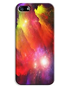 Hand Painted Colourful Nebula Case for your iPhone 5/5S