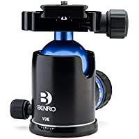 Benro Triple Action Ball Head w/ PU60 Quick Release Plate (V3E)