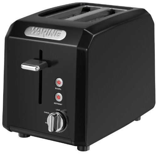 Waring CTT200BK Professional Cool Touch 2-Slice Toaster, Bla