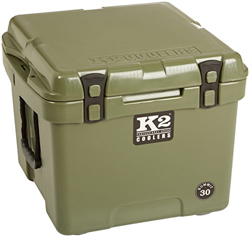 K2 Coolers Summit 30 Cooler, Duck Boat Green by K2 Coolers