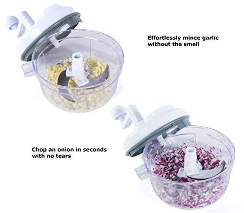 Food Chopper - in 1 Chopper, Salsa Maker, Shredder – As Manual Food