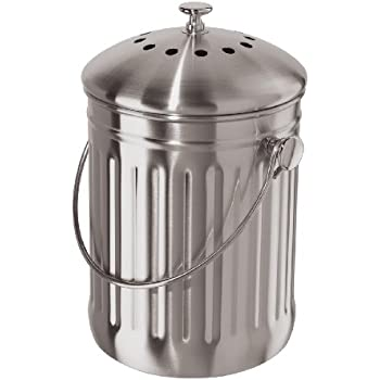Amazon Com Oggi Stainless Steel Counter Composter With