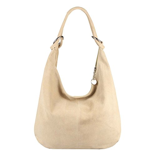 OBC Only-Beautiful-Couture, Borsa a spalla donna Argento argento xl beige