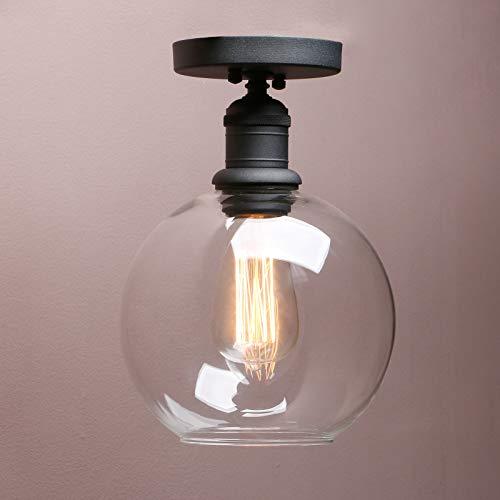 Vintage Globe Pendant Light in US - 8