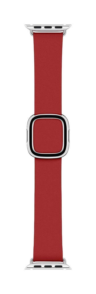 Apple Watch Series 4 Modern Buckle Band (40mm) - (Product) RED - Medium by Apple