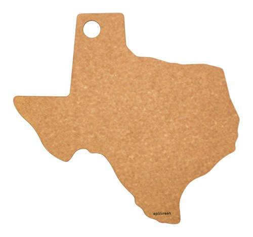 Epicurean State of Texas Cutting and Serving Board, 14 by 13