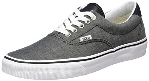f96aea8a98dcfd Galleon - VN0A38FSMML MEN UA ERA 59 (C L) VANS FOOTWEAR CHAMBRAY BLACK