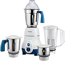 Philips Hl1645 750-watt 3 Jar Super Silent Vertical Mixer Grinder and Blender Jar with Frui
