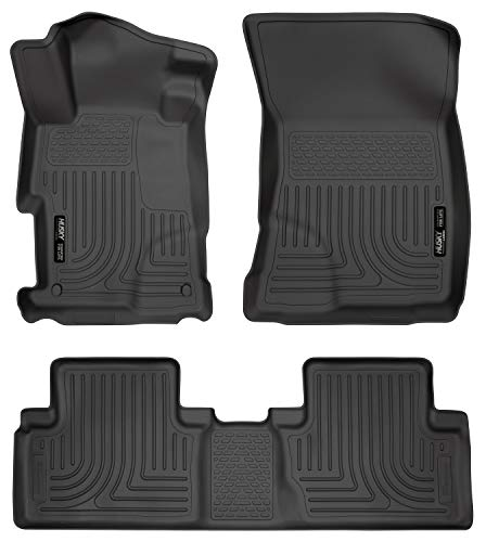 - Husky Liners Front & 2nd Seat Floor Liners Fits 12-13 Civic 4 Door