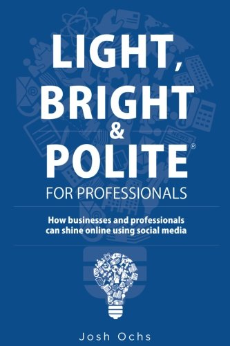 Light, Bright and Polite For Professionals: How businesses and professionals can shine online using social media