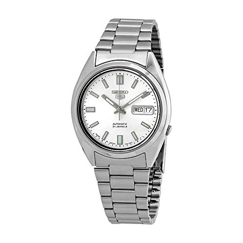 Seiko 5 Gents Automatic watch, stainless Steel, Silver Dial - SNXS73J1 (Made in Japan) by Seiko Watches