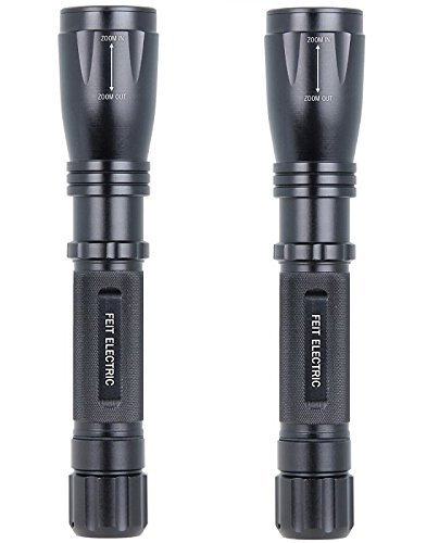 Feit Electric 72328 500 Lumen LED Flashlight (500 lumens-2 Pack)