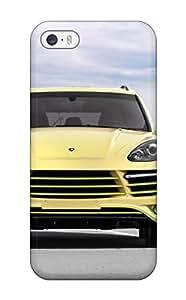 Durable 2012 Topcar Porsche Cayenne Vantage 2 Lemon Front Cars Porsche Back Case/cover For Iphone 5/5s