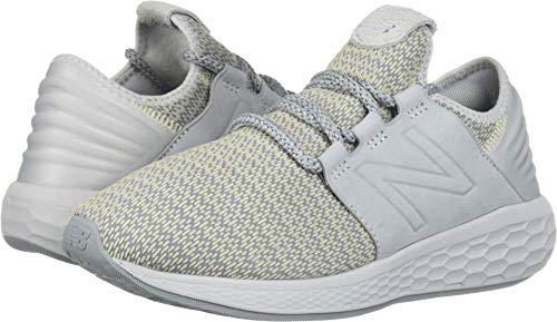 - New Balance Women's Cruz V2 Fresh Foam Running Shoe, Light Cyclone/Vanilla, 6 W US