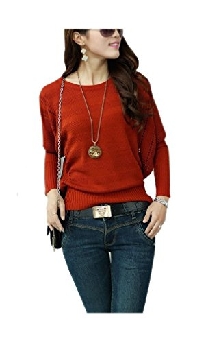 ARJOSA Fashion Stretchy Crewneck Pullovers