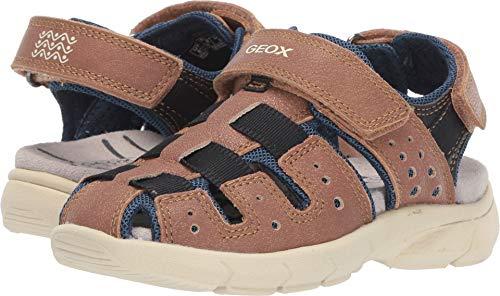 Geox Kids Baby Boy's Sandal Flexyper Boy 5 (Toddler) Cognac 24 M EU
